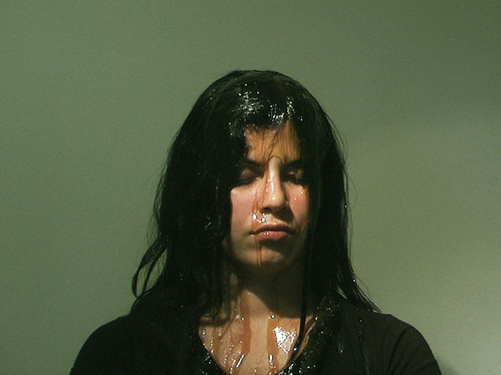7. A drop of honey, 2013 - Performance, Video Still (Naivy Perez)