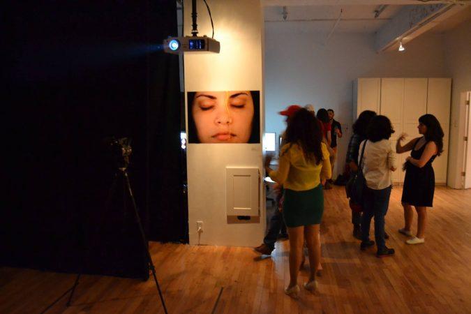 2. A drop of honey, 2013 - Performance, Opening (Naivy Perez)