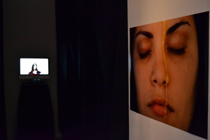 3. A drop of honey, 2013 - Performance, Opening (Naivy Perez)