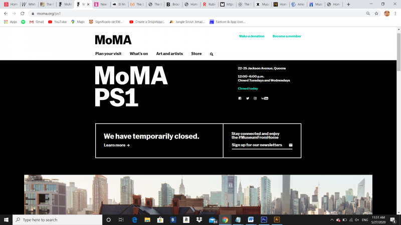 www.moma.org(ps1), 2020 - Photography (Naivy Perez)
