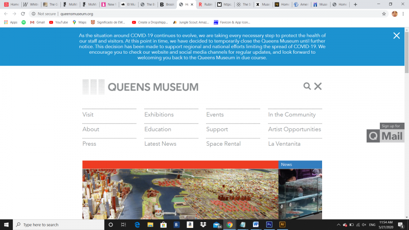 www.queensmuseum.org, 2020 - Photography (Naivy Perez)